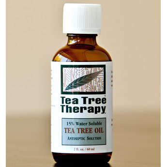 15% Water Soluble Tea Tree Oil Antiseptic Solution, 2 oz, Tea Tree Therapy