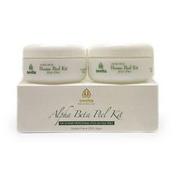 2-Step Alpha Beta Home Peel Kit, Facial Care, 2 oz x 2 Jars, Devita