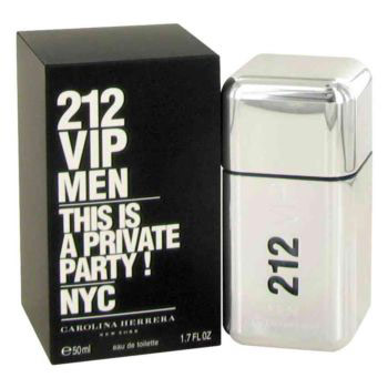 212 Vip Cologne for Men, Eau De Toilette Spray, 1.7 oz, Carolina Herrera