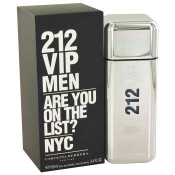 212 Vip Cologne for Men, Eau De Toilette Spray, 3.4 oz, Carolina Herrera