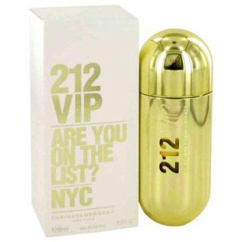 212 Vip Perfume for Women, Eau De Parfum Spray, 2.7 oz, Carolina Herrera