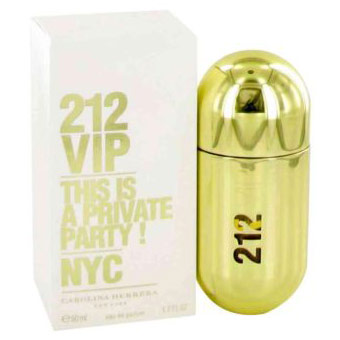 212 Vip Perfume for Women, Eau De Parfum Spray, 1.7 oz, Carolina Herrera