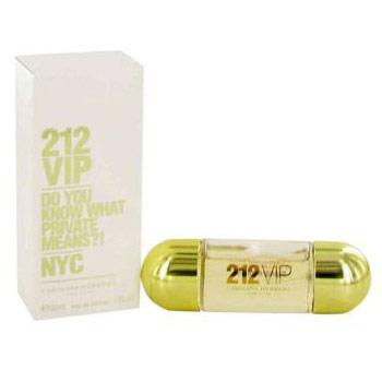 212 Vip Perfume for Women, Eau De Parfum Spray, 1 oz, Carolina Herrera