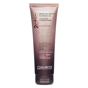 2chic Ultra-Sleek Conditioner Travel Size, 1.5 oz, Giovanni Cosmetics
