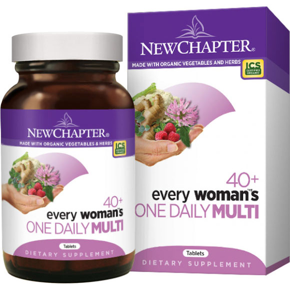 40+ Every Womans One Daily Multivitamin, 48 Tablets, New Chapter