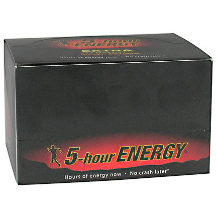 5-Hour Energy Extra Strength Energy Drink, 2 oz x 12 Bottles, Living Essentials
