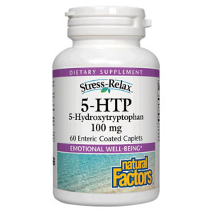 Buy 5-HTP 100mg 60 Caplets, Natural Factors