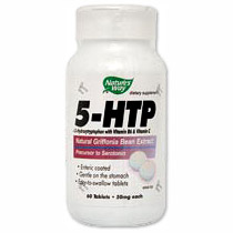5-HTP with Vitamin B6 & C 60 tabs from Natures Way