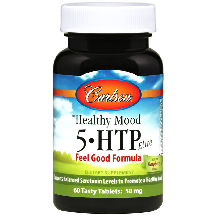 5-HTP Elite, 50 mg 60 tablets, Carlson Labs