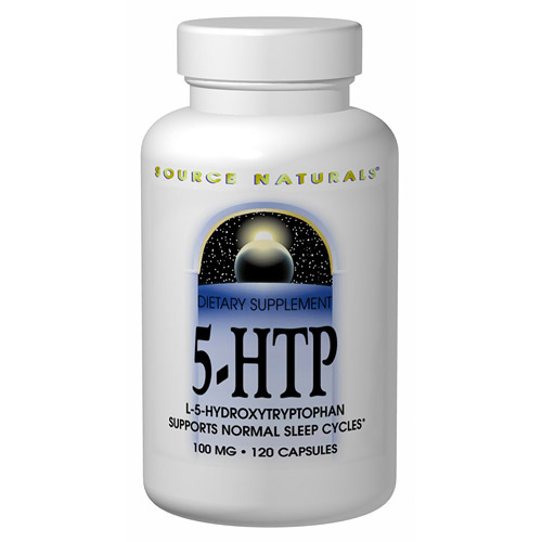 5-HTP (5HTP) 50 mg 30 caps from Source Naturals