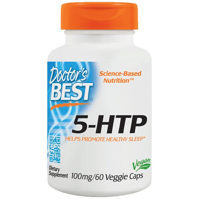 5-HTP 100 mg (5HTP), 60 Veggie Caps, Doctors Best