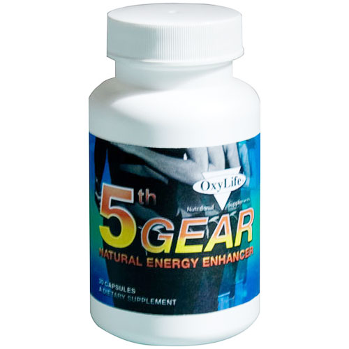 5th Gear Energy Enhancement, 30 Capsules, Oxylife Products