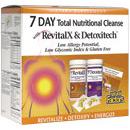 RevitalX & Detoxitech Kit, 7-Day Total Nutritional Cleansing Program, Natural Factors