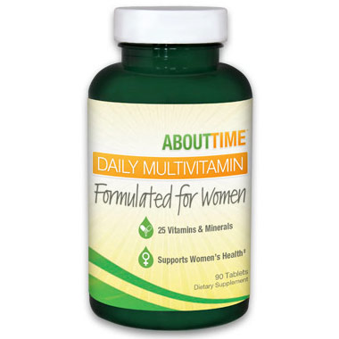 About Time Daily Multivitamin for Women, 90 Vcaps, SDC Nutrition