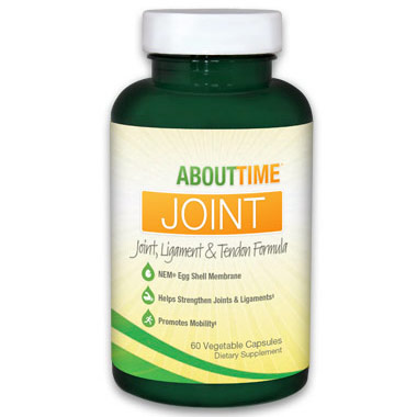 About Time Joint, Ligament & Tendon Formula, 90 Vegetable Capsules, SDC Nutrition