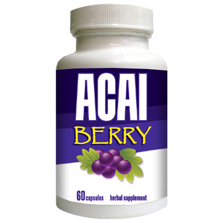 Acai Berry with Green Tea, 60 Capsules, EyeFive
