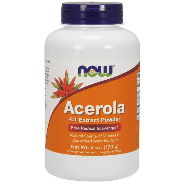 Acerola Powder 6 oz, NOW Foods
