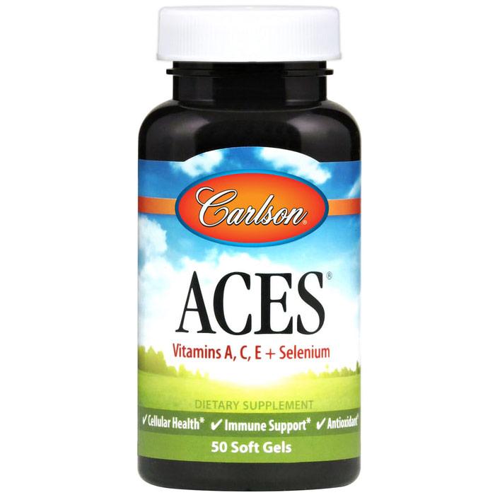 ACES, Antioxidant Formula, 50 softgels, Carlson Labs
