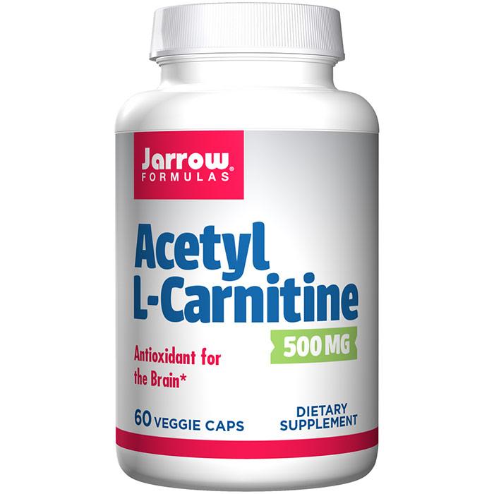 Acetyl L-Carnitine (ALC) 500 mg 60 caps, Jarrow Formulas
