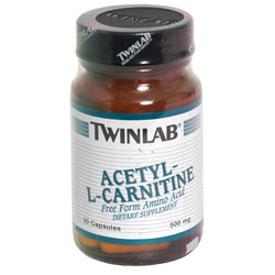 ALC, Acetyl L-Carnitine 500mg 120 caps from Twinlab