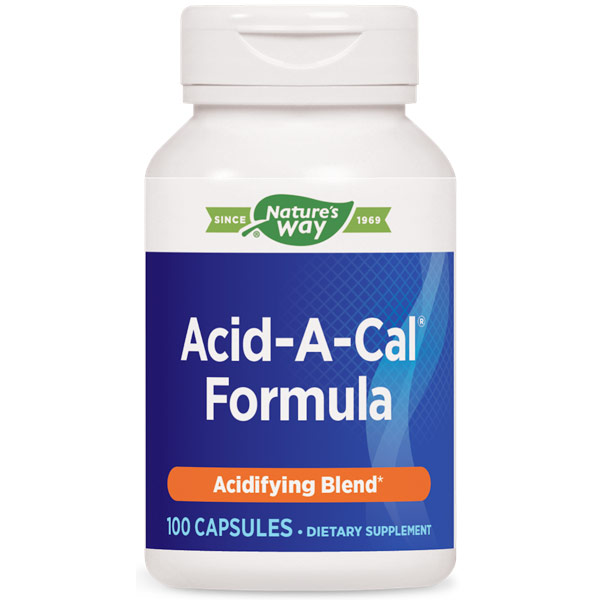 Acid-A-Cal, 100 Capsules, Enzymatic Therapy