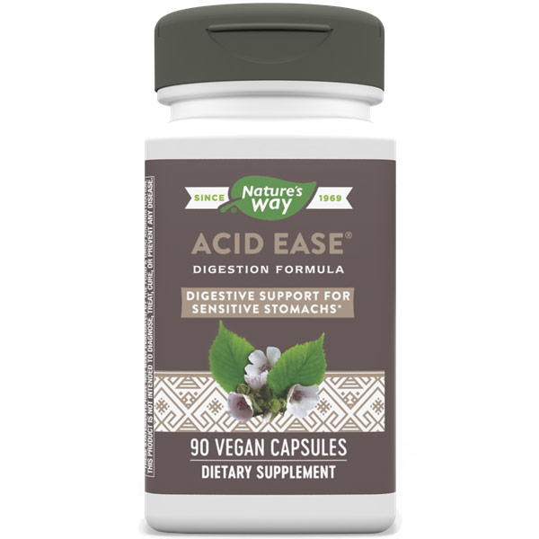 Acid-Ease, 90 Veg Capsules, Enzymatic Therapy