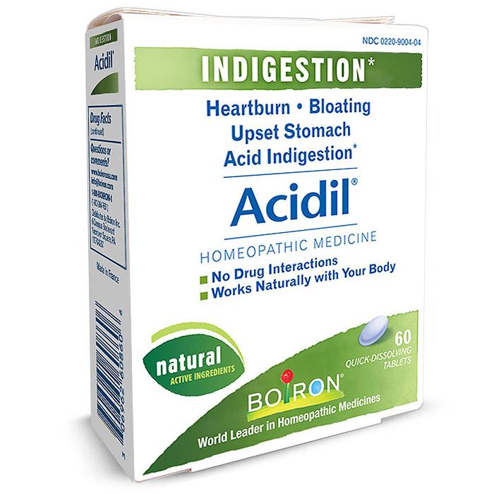 Acidil Heartburn Relief 60 tabs from Boiron