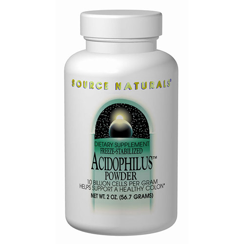 Acidophilus 300mg Freeze-Dried 60 caps from Source Naturals