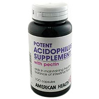 Acidophilus with Pectin 100 caps from American Health