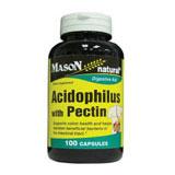 Acidophilus with Pectin, 100 Capsules, Mason Natural