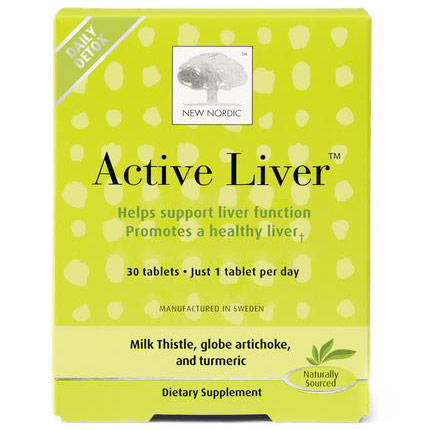 Acive Liver, Helps Support Liver Function, 30 Tablets, New Nordic