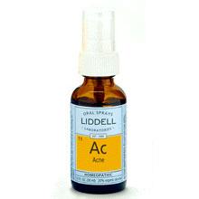 Liddell Acne Homeopathic Spray, 1 oz