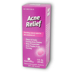 Acne Relief 1 fl oz, NatraBio (Natra-Bio)