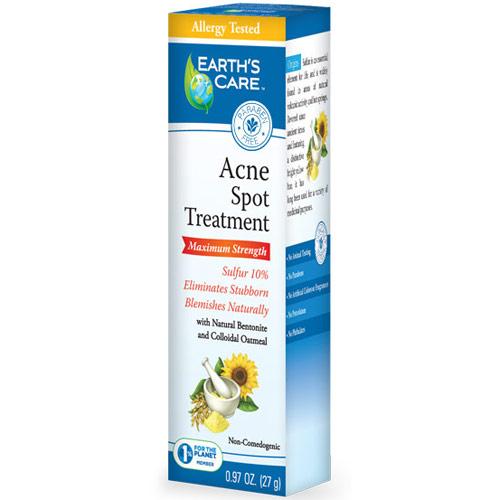 Acne Spot Treatment Gel, 0.97 oz, Earths Care