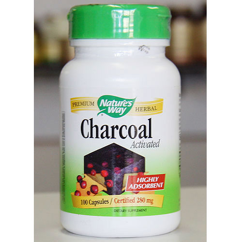 Activated Charcoal 100 caps from Natures Way