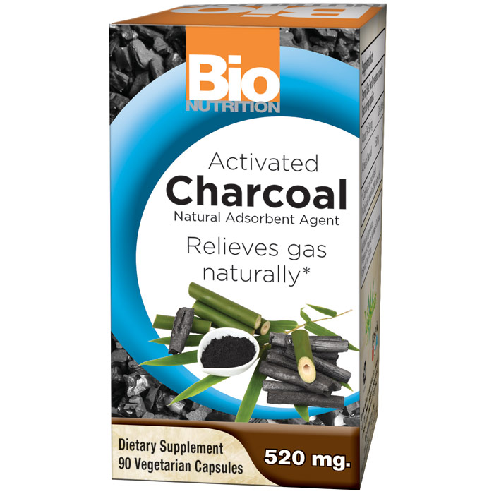 Activated Charcoal, 90 Vegetarian Capsules, Bio Nutrition Inc.