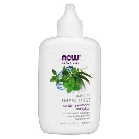 Activated Nasal Mist, 2 oz, NOW Foods