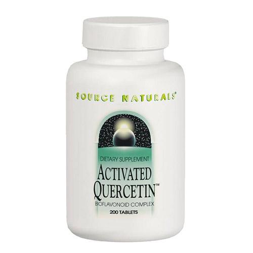 Activated Quercetin (Nonallergenic Bioflavonoid Complex) 100 caps from Source Naturals