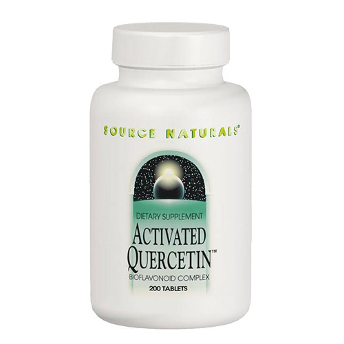 Activated Quercetin (Nonallergenic Bioflavonoid Complex) 200 caps from Source Naturals (Vitamins Supplements - Quercetin)