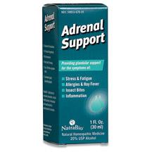 Adrenal Support 1 fl oz, NatraBio (Natra-Bio)