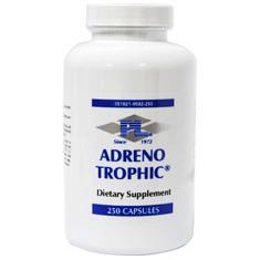 Adreno Trophic (Adrenal Formula), 250 Capsules, Progressive Laboratories
