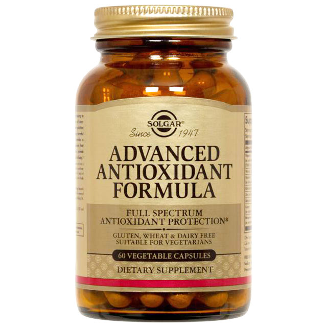 Advanced Antioxidant Formula, 120 Vegetable Capsules, Solgar