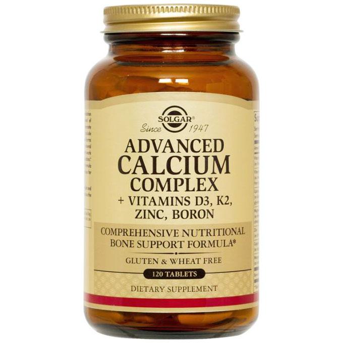 Advanced Calcium Complex, 120 Tablets, Solgar
