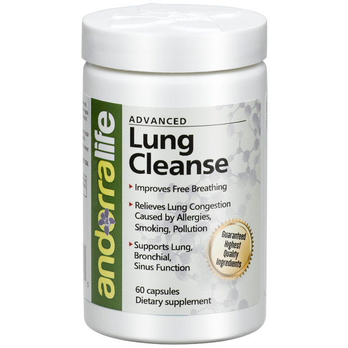Advanced Lung Cleanse, 60 Capsules, Andorra Life
