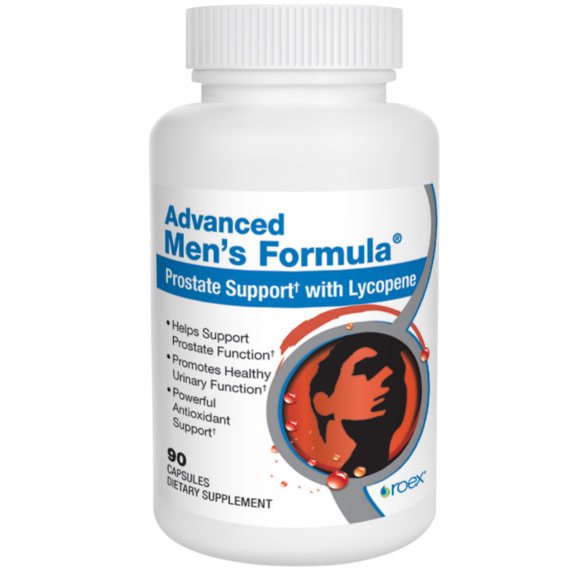 Advanced Mens Formula, Prostate Support, 90 Capsules, Roex