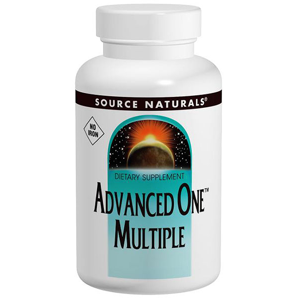 Advanced One Multiple No Iron 60 tabs from Source Naturals