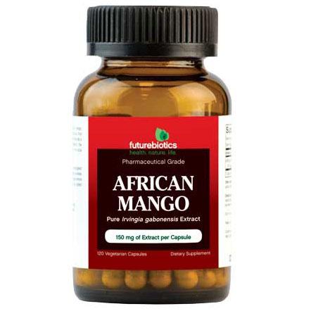 African Mango (Irvingia Gabonensis) 120 Vegetarian Capsules, FutureBiotics