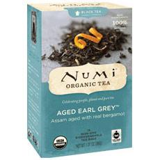 Aged Earl Grey Black Tea, 18 Tea Bags, Numi Tea