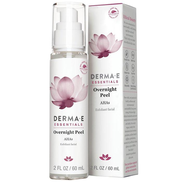 Derma-E Overnight Peel with Alpha Hydroxy Acids, 2 oz, Derma E