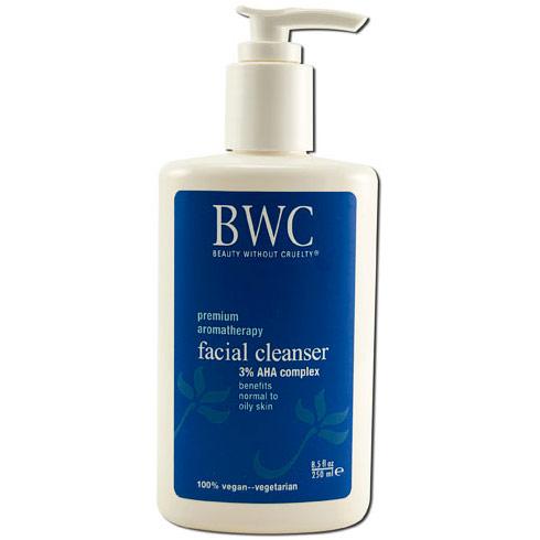 3% AHA Facial Cleanser, 8.5 oz, Beauty Without Cruelty